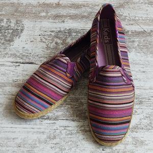⚂Keds Stripe Serape Espadrille Loafer